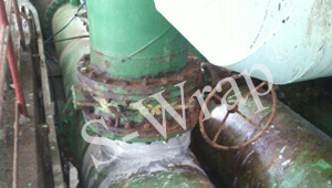 20_ CW Pipe in Power Plant After Repair